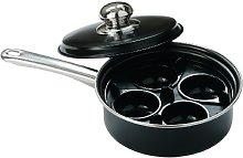 Premier Housewares Egg Poacher - Black