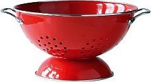 Premier Housewares Enamel Retro Colander,