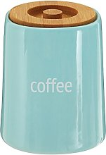Premier Housewares Fletcher Coffee Canister - Blue