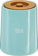 Premier Housewares Fletcher Tea Canister - Blue