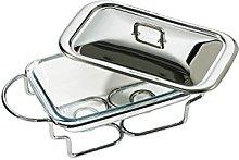 Premier Housewares Food Warmer, 1.6 L - Stainless