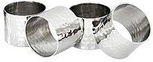 Premier Housewares Hammered Napkin Rings