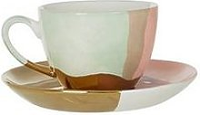 Premier Housewares Hand Painted Cup & Saucer,