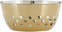 Premier Housewares Heart Design Fruit Bowl