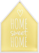 Premier Housewares Home Sweet Home Quote Light Box