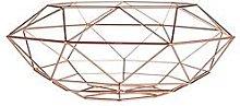 Premier Housewares Iron Wire Vertex Fruit Basket