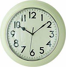 Premier Housewares Kitchen Wall Clock - Cream