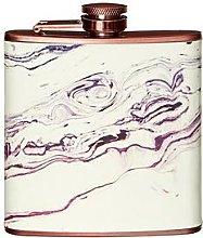 Premier Housewares Marble-Effect Hip Flask