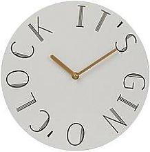 Premier Housewares Mimo Gin O Clock Wall Clock