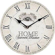 Premier Housewares Modern Frameless Wall Clock