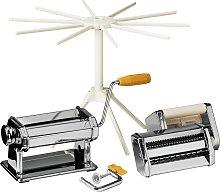 Premier Housewares Multi Pasta Maker Set - Chrome.