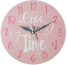 Premier Housewares Once Upon A Time Wall Clock