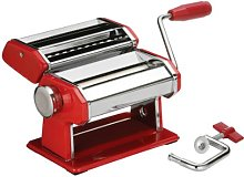 Premier Housewares Pasta Maker with Red/Chrome