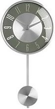 Premier Housewares Pendulum Metal Wall Clock