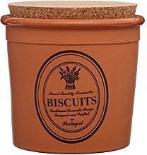 Premier Housewares Porto Biscuit Canister-Natural