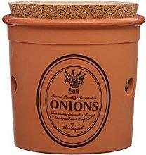 Premier Housewares Porto Onion Canister - Orange