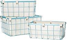 Premier Housewares Rectangle Wire Storage Basket