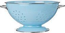 Premier Housewares Retro Colander - Blue