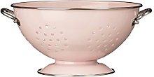 Premier Housewares Retro Colander - Pastel Pink