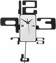 Premier Housewares Retro Pendulum Wall Clock -