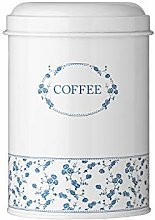 Premier Housewares Rose Coffee Canister - Blue by