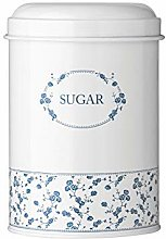 Premier Housewares Rose Sugar Canister - Blue by