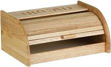 Premier Housewares Rubber Wood Bread Bin with