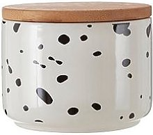 Premier Housewares Small Speckled Canister