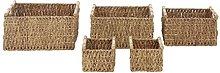 Premier Housewares Storage Baskets Iron Wicker