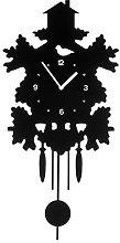 Premier Housewares Tree House Pendulum Wall Clock