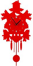 Premier Housewares Tree House Pendulum Wall Clock