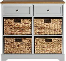 Premier Housewares Vermont Cabinet with 2-Drawer