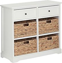 Premier Housewares Vermont Cabinet with 2 Drawer