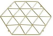 Premier Housewares Vertex Trivet - Gold