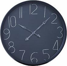 Premier Housewares Wall Clock Black Frame / Black