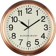 Premier Housewares Wall Clock Copper Clocks For