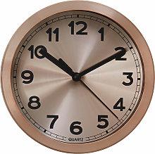 Premier Housewares Wall Clock Copper Frame /