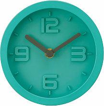 Premier Housewares Wall Clock Cyan Frame / Cyan