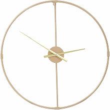 Premier Housewares Wall Clock Gold Frame / Gold