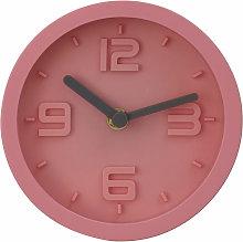Premier Housewares Wall Clock Pink Frame / Pink