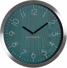 Premier Housewares Wall Clock Silver / Grey Finish