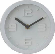 Premier Housewares Wall Clock White Frame / White