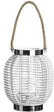 Premier Housewares White Altar Lantern