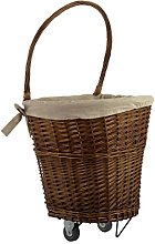 Premier Housewares Willow Basket, Linen, Willow,