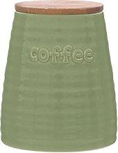 Premier Housewares Winnie Coffee Canister Green