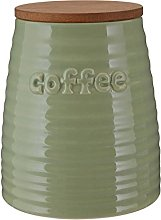 Premier Housewares Winnie Coffee Canister - Green