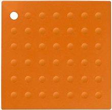 Premier Housewares Zing Silicone Trivet - Orange