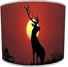 Premier Lighting 10 Inch Table stag deer