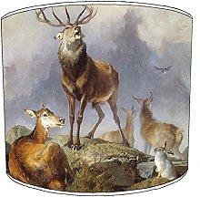 Premier Lighting 12 Inch Ceiling stag deer