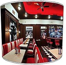 Premier Lighting 12 Inch Table american diner